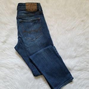 AE 360 Extreme Flex Slim Blue Jeans 30x30